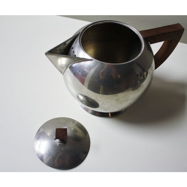 French Pewter Tea or Coffee Server - Image 3 of 7