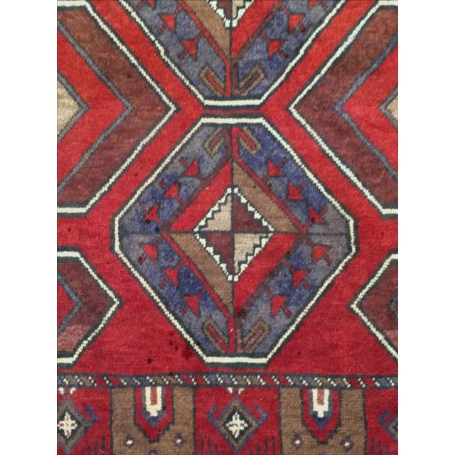 Baluchi Persian Rug - 2′11″ × 4′2″ - Image 5 of 6