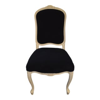 Custom Order Louis XV Style Painted Dining Chair For Sale