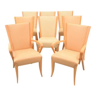 Dakota Jackson Dining Chairs - Set of 8 For Sale