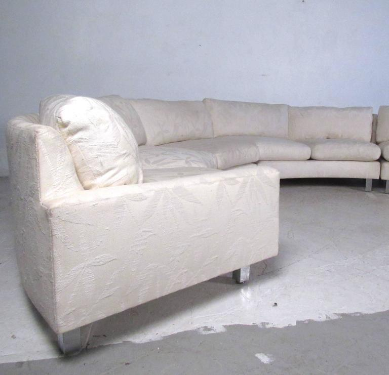 Exceptionnel Milo Baughman Mid Century Circular Sofa   Image 3 Of 10