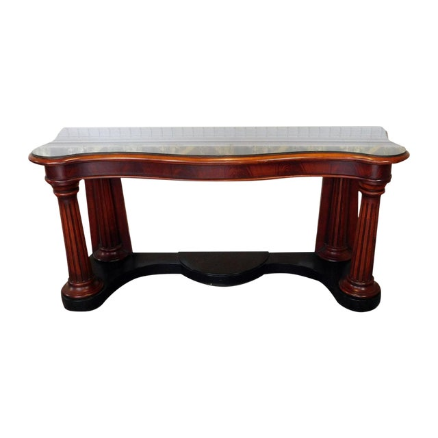 Ralph Lauren Home Collection Mahogany Console - Image 1 of 6