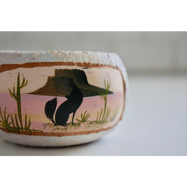 Painted Native American Pot - Image 7 of 8
