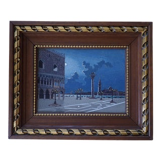 19th Century Italian Micromosaic Plaque For Sale