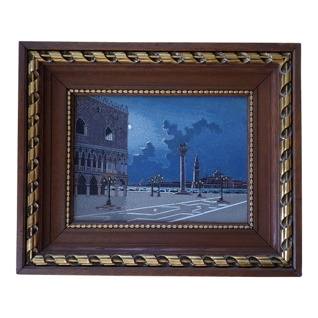 19th Century Italian Micromosaic Plaque For Sale