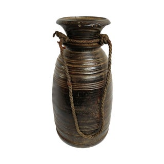 Old Humla Wood Container Nepal For Sale