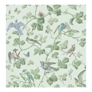 Cole & Son Winter Birds Wallpaper Roll - Duck Egg For Sale