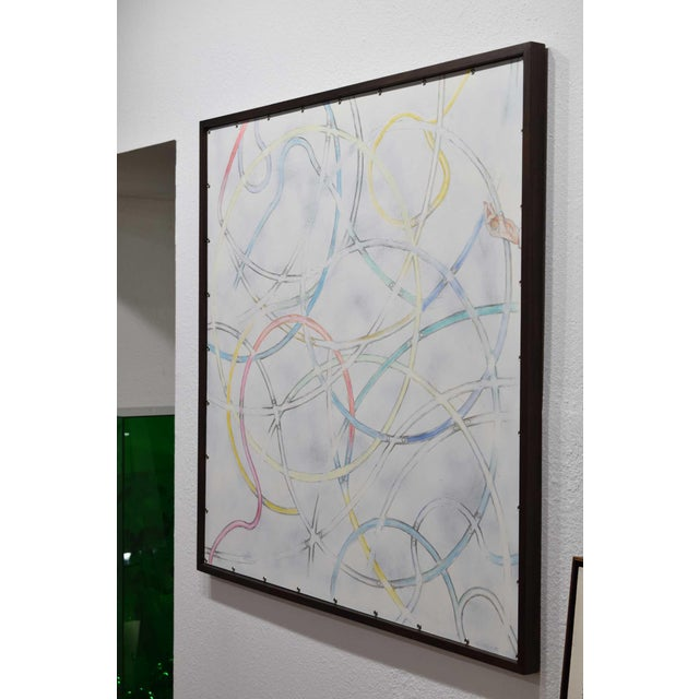 2010s Larry Locke, (American, 1960), Acrylic on Canvas, Dated 2019 For Sale - Image 5 of 10