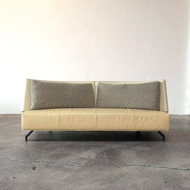 Montis 'Baku' Sofa by Neils Bendtsen, 1992 This signature design by renown Dutch furniture line Montis embodies the...