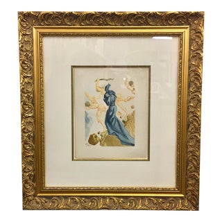 1950s Vintage Salvador Dalí The Divine Comedy Inferno #15 Original Print For Sale
