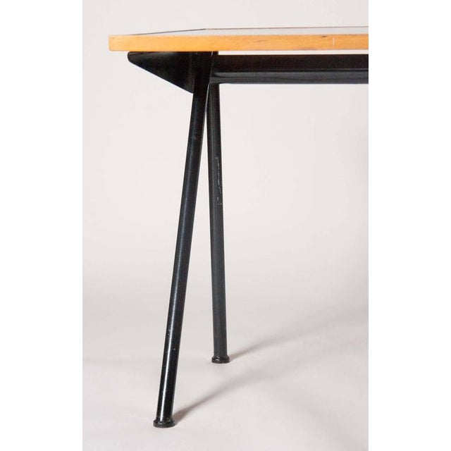 Metal Compass Desk by Jean Prouve For Sale - Image 7 of 10