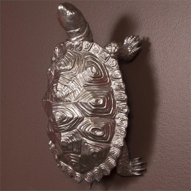 This little guy has such detail, that if it weren't for the metallic pewter finish, you would swear it was real! The...