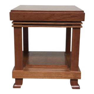 Traditional Frank Lloyd Wright Cassina Side Table For Sale