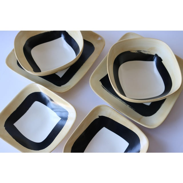 6-Piece Americaware by A. Mallory Dinnerware Set - Image 3 of 5