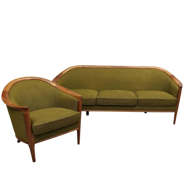 1960s Scandinavian Modern Seating Group For Sale - Image 5 of 5
