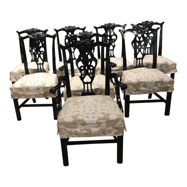 Century Furniture Dining Chairs - Set of 8 For Sale