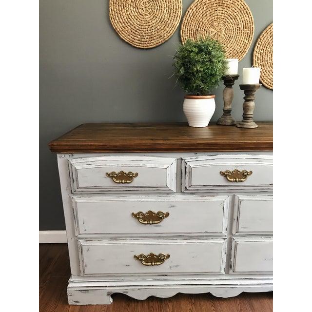 Vintage Distressed Dresser - Image 4 of 11
