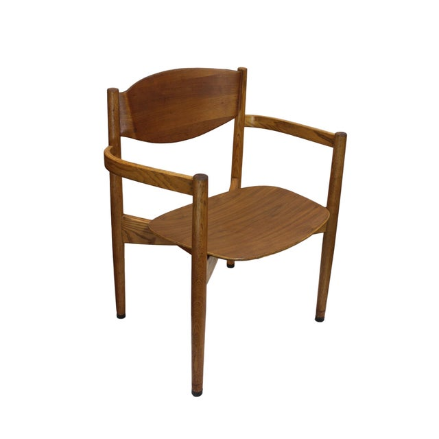 Vintage Jens Risom Stacking Chairs - Set of 6 - Image 2 of 6