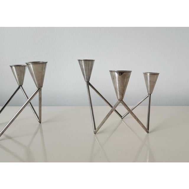 Georg Jensen Sculptural Candelabras - A Pair - Image 5 of 6