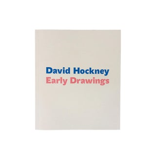 David Hockney Early Drawings Exhibitions Catalogue For Sale
