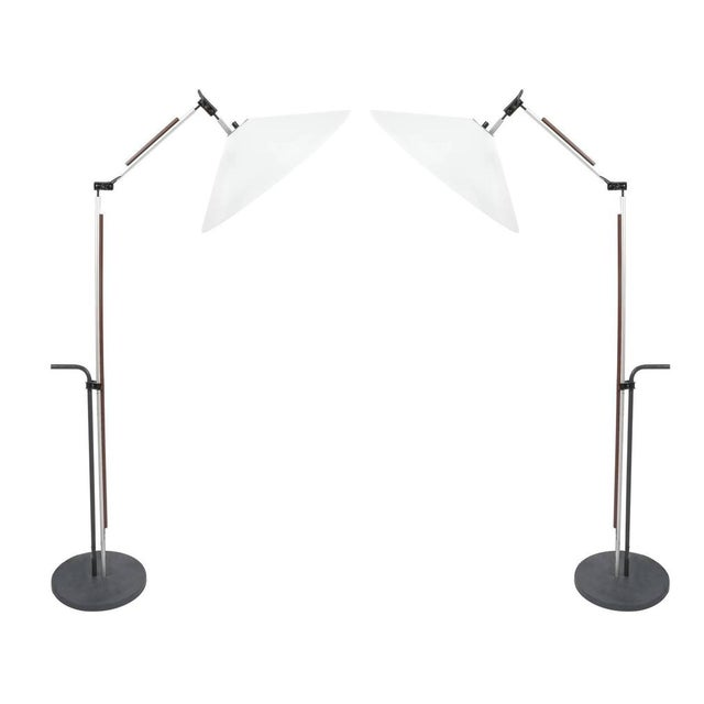Pair of Aggregato Floor Lamps by Enzo Mari, Circa 1970 For Sale - Image 10 of 10