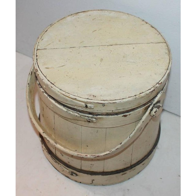 Group of Three Assorted Furkins or Buckets For Sale In Los Angeles - Image 6 of 9