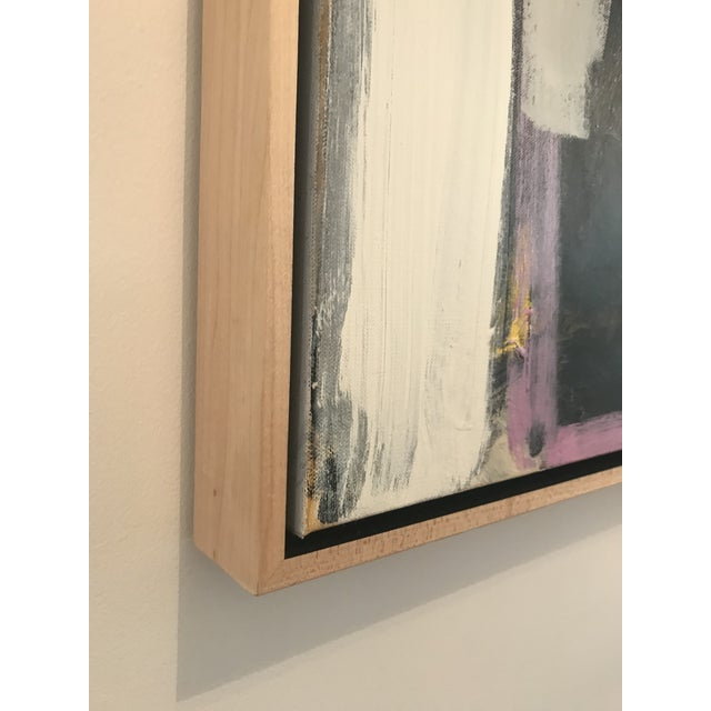White Spring Street Contemporary Abstract Painting For Sale - Image 8 of 10