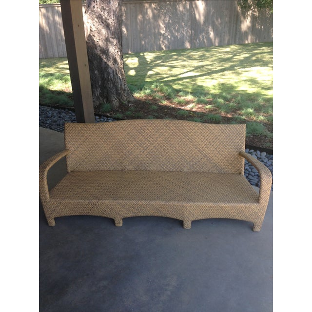 Brown Jordan Outdoor Patio Sofa - Image 5 of 10