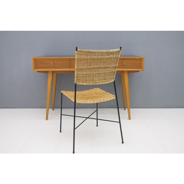 Mid-Century Modern Console Table Vanity by Helmut Magg, Germany, 1950s For Sale - Image 3 of 13