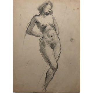 1930s Female Nude by Henry Gasser For Sale