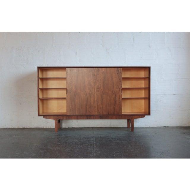 Danish Modern 1960s Vintage Danish Teak Credenza For Sale - Image 3 of 6