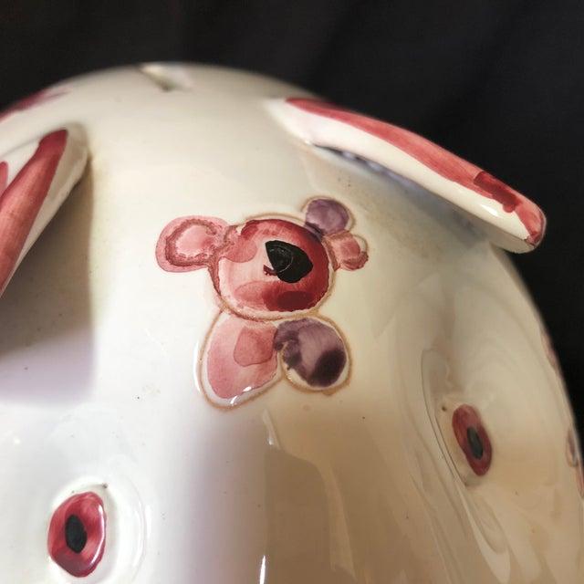 Ceramic Mid Century Italian Ceramics Piggy Bank For Sale - Image 7 of 8