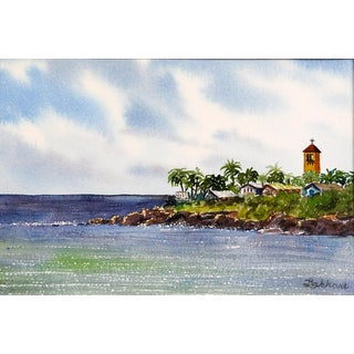Waimea Bay Haleiwa Hawaii Painting For Sale