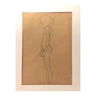 Original Gustav Klimt Lithograph For Sale