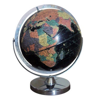 Vintage Black Sea Starlight Globe For Sale