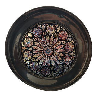 Washington Cathedral Creation Rose Window Plate