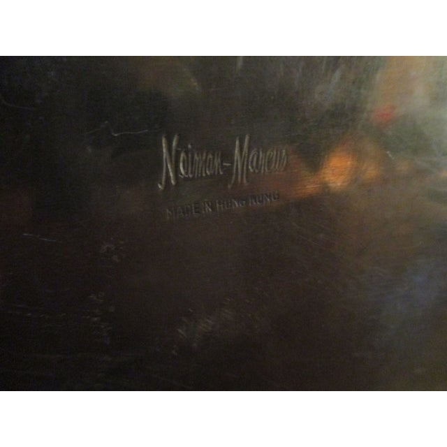 Neiman Marcus Hollywood Regency Brass & Copper Trinket Box - Image 4 of 10