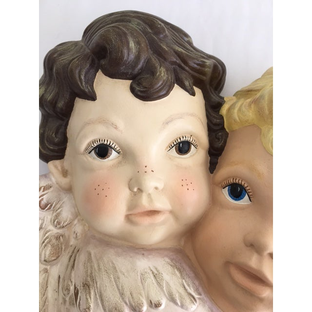 """Sweet Faces"" Cherub Plaque - Image 4 of 6"