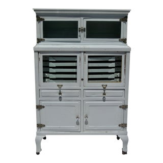 19th Century Iron Dental Cabinet For Sale