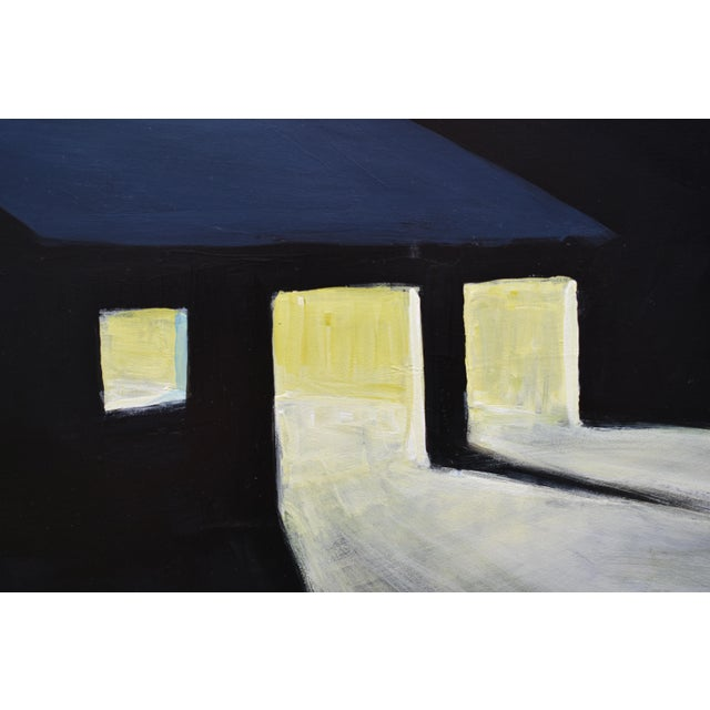 """Stephen Remick """"Late Night Work"""" Contemporary Painting by Stephen Remick For Sale - Image 4 of 11"""