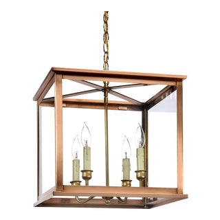 Lantern & Scroll Midtown Collection Hanging Light For Sale
