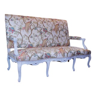 Antique French Régence Style Sofa or Settee For Sale