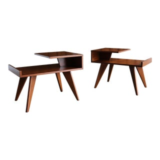 Dan Johnson for Hayden Hall End Tables For Sale