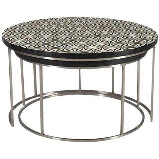 Contemporary Erdos + Ko Urbane Nesting Coffee Tables - Set of 2 For Sale