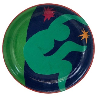 French Modern Tray, in the Manner of Henri Matisse For Sale