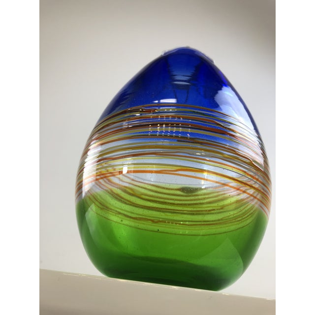 1960s Vintage Gino Cenedese Murano Vase For Sale - Image 11 of 13