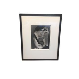1990 Geoff Kern Signed Framed Photograph For Sale