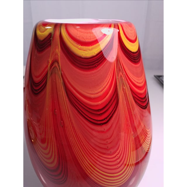 2008 Murano Art Glass Vase - Image 8 of 11