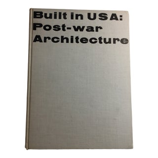 Vintage Built in Usa Post-War Architecture Museum of Modern Art Book For Sale