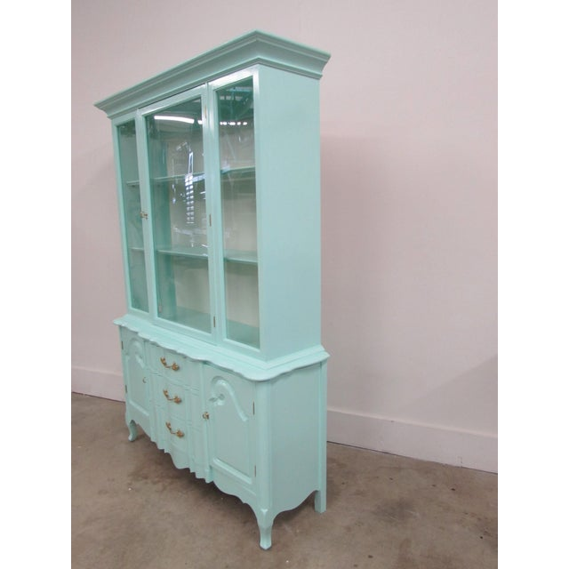 French Étagère Lacquered in Biscayne Shore For Sale In Raleigh - Image 6 of 10